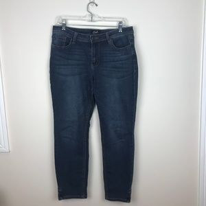Earl Jeans Skinny Ankle Size 14